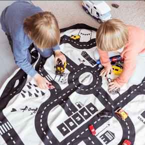 Play&Go Lekmatta Förvaringspåse - Roadmap