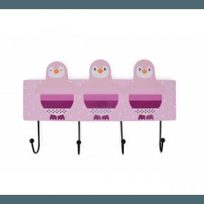 Magni Magni Kroklist Pingvin - Rosa