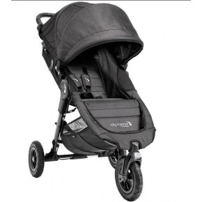 Baby Jogger City Mini GT - Mörkgrå/Denim