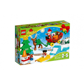 LEGO Duplo Town - Jultomtens Jullov