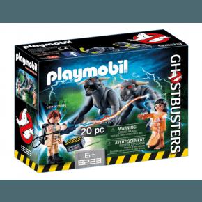 Playmobil Ghostbusters Venkman & Terros Dogs