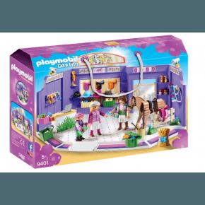 Playmobil City Life Horse Track Shop
