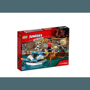 LEGO Juniors Zanes Ninjabåtjakt