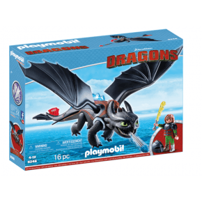 Playmobil Dragons Hicke & Tandlös