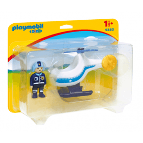 Playmobil Polishelikopter