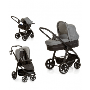Hauck Soul Plus Trio Set - Melange Grey