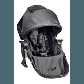 Baby Jogger Syskonsäte City Select - Mörkgrå/Denim