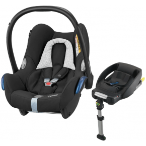 Maxi-Cosi CabrioFix - Blackgrid Inkl Easyfix Base 2016 model - Svart