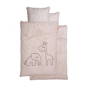 Done by Deer Juniorsängkläder, Dreamy dots, puder