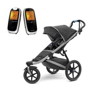 Thule Urban Glide 2 Dark Shadow Sittvagn + Neonate 6500 Babyvakt