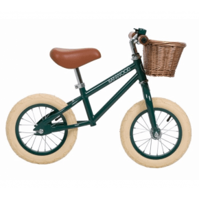 Banwood First Go Balance Bike Springcykel - Dark Green