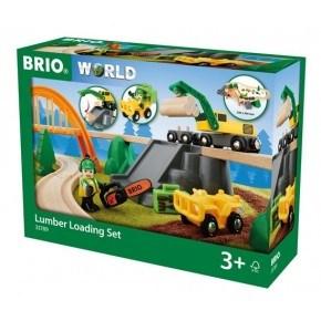 BRIO Tågbana Skogsarbetarset
