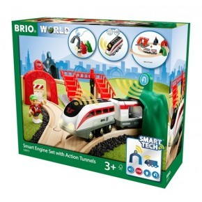 BRIO Smart Tech Tågbana m.Action- Tunnlar - 33873
