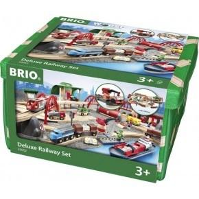 BRIO Järnväg Deluxe - 33052
