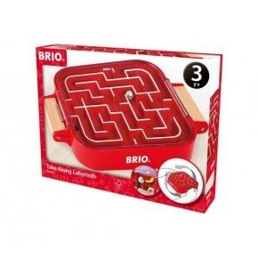 BRIO Min första laburint - Röd