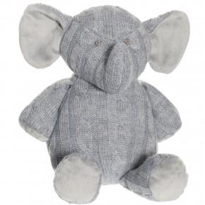 Teddykompaniet Stickad Elefant Mjukisdjur