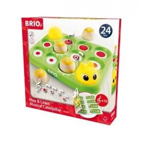BRIO lek och lär musikalisk larv - 30189