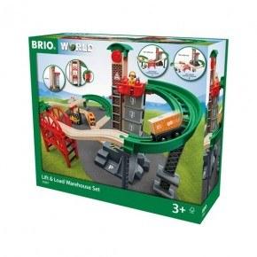 BRIO Tågbana m. lager - 33887