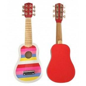 Magni Gitarr Randig - Rosa