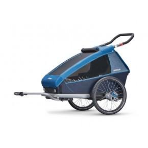 CROOZER Kid Plus 2 2019 cykelanhängare- blå