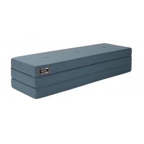 ByKlipKlap Multifunktionell 3 Fold  Madrass- Blå