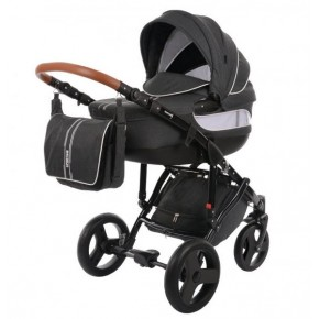 Knorr-Baby Sportime Premium kombivagn - Mörkgrå