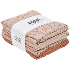 Pippi Muslinfilt 8-pack - Shell