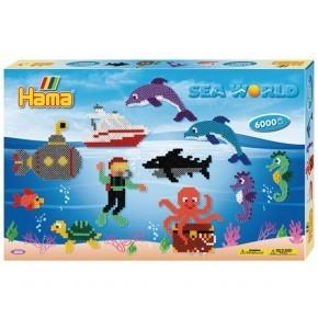 Hama Pärlor Sea World