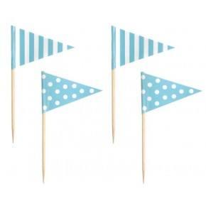 JaBaDaBaDo Partypicks - Ljusblå