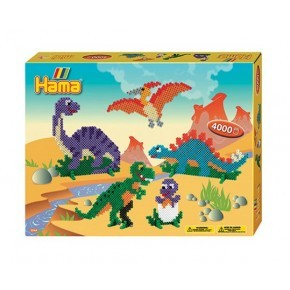 Hama Midi Pärlor Dinosaurier