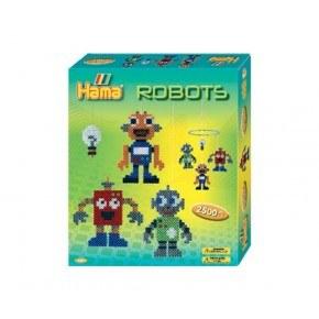 Hama Midi Pärlor Robotar