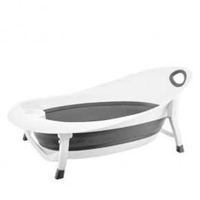 Mininor folde badkar - Vit