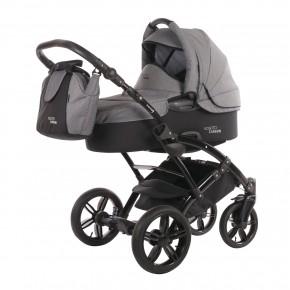 Knorr-Baby Voletto Carbonlook Barnvagn - Grå