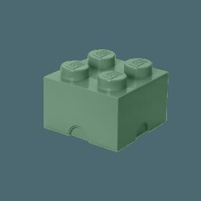 LEGO Förvaring 4 - Sand Grön