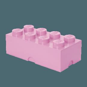 LEGO Förvaring 8 - Ljusrosa