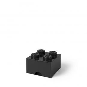 LEGO Förvaring 4 Låda - Svart