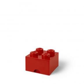 LEGO Förvaring 4 Låda - Röd