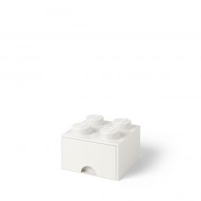 LEGO Förvaring 4 Låda - Vit