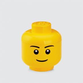 LEGO Förvaring Huvud Pojke Stl. S