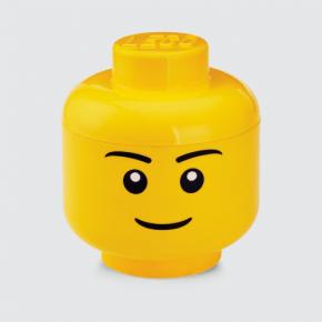 LEGO Förvaring Huvud Pojke Stl. L