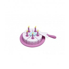 Kids Concept Födelsedagstårta - Rosa