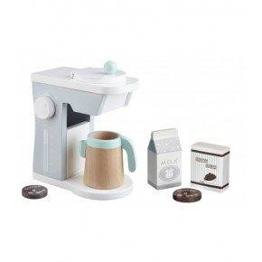 Kids Concept Kaffemaskin - Vit/Grå