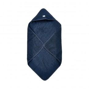 Pippi Handduk med Luva - Mörkblå