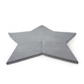 Misioo Star Lekmadrass - Grå