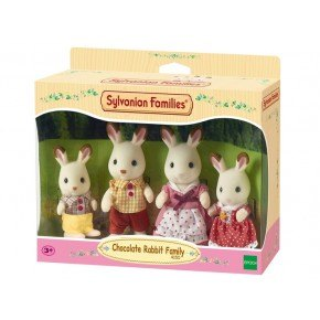 Sylvanian Families - Familjen Chokoladkanin