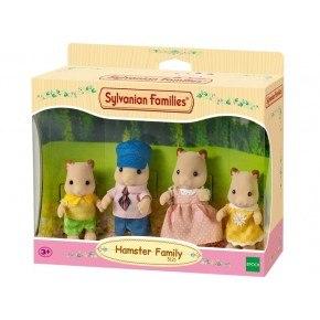 Sylvanian Families - Familjen Guldhamster
