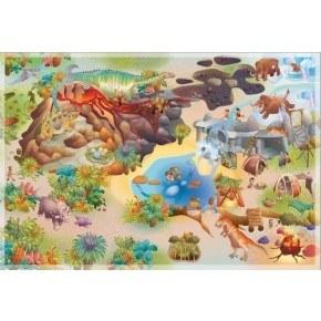 House Of Kids Matta Dino Latex 100 x 150 cm