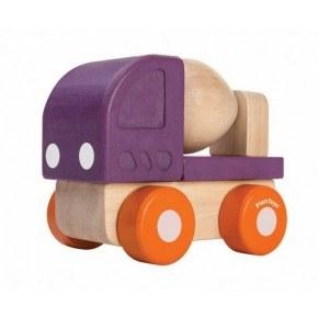 Plantoys Mini Cement Lastbil - Orange/Lila