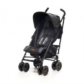 BabyTrold Sprinter Paraplyvagn - Svart/Grå