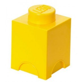 LEGO Förvaring 1 - Gul